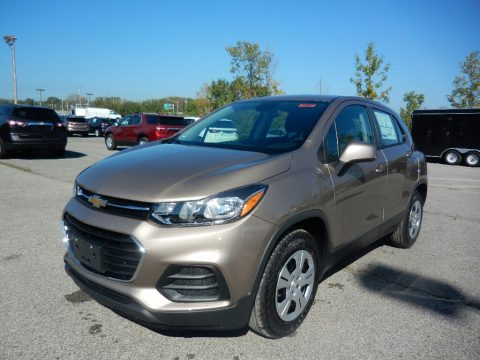 Sandy Ridge Metallic Chevrolet Trax LS.  Click to enlarge.