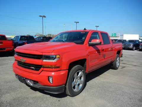 Red Hot Chevrolet Silverado 1500 LT Crew Cab 4x4.  Click to enlarge.