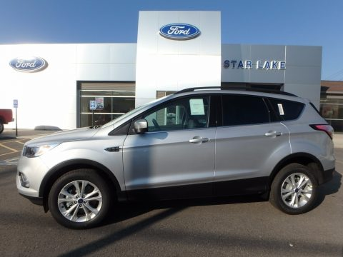 Ingot Silver Ford Escape SE 4WD.  Click to enlarge.