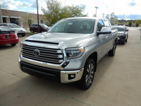 Silver Sky Metallic Toyota Tundra Limited CrewMax 4x4.  Click to enlarge.