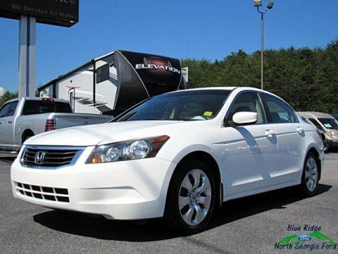 Taffeta White Honda Accord EX Sedan.  Click to enlarge.