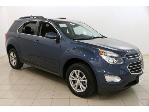 Patriot Blue Metallic Chevrolet Equinox LT AWD.  Click to enlarge.