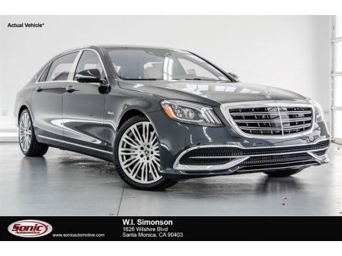 Magnetite Black Metallic Mercedes-Benz S Maybach S 560 4Matic.  Click to enlarge.