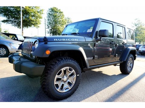Granite Crystal Metallic Jeep Wrangler Unlimited Rubicon 4x4.  Click to enlarge.