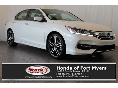White Orchid Pearl Honda Accord Sport Special Edition Sedan.  Click to enlarge.