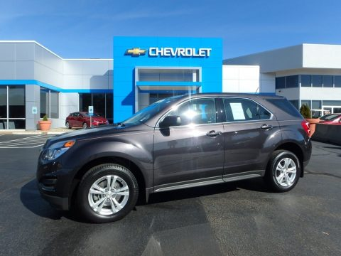 Tungsten Metallic Chevrolet Equinox LS AWD.  Click to enlarge.