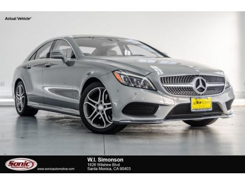 Palladium Silver Metallic Mercedes-Benz CLS 400 Coupe.  Click to enlarge.