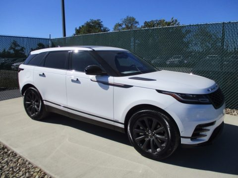 Fuji White Land Rover Range Rover Velar R Dynamic SE.  Click to enlarge.