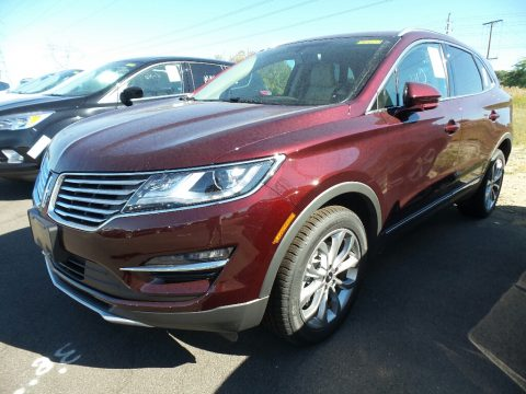 Burgundy Velvet Metallic Lincoln MKC Select AWD.  Click to enlarge.