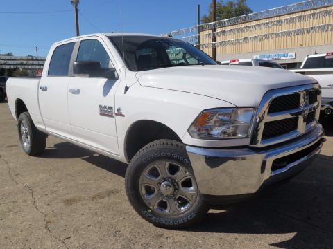 Bright White Ram 2500 SLT Crew Cab 4x4.  Click to enlarge.