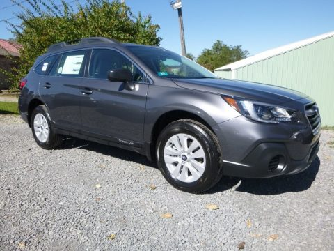Magnetite Gray Metallic Subaru Outback 2.5i.  Click to enlarge.