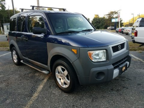 Eternal Blue Pearl Honda Element EX AWD.  Click to enlarge.