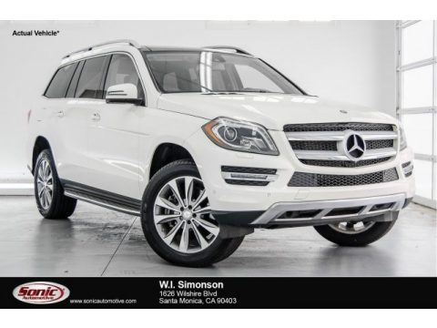 Diamond White Metallic Mercedes-Benz GL 450 4Matic.  Click to enlarge.
