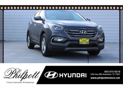 Platinum Graphite Hyundai Santa Fe Sport .  Click to enlarge.