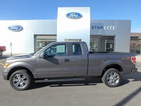 Sterling Grey Ford F150 STX SuperCab 4x4.  Click to enlarge.