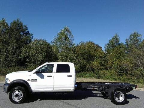 Bright White Ram 5500 Tradesman Crew Cab Chassis.  Click to enlarge.