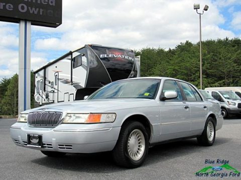 Silver Frost Metallic Mercury Grand Marquis LS.  Click to enlarge.