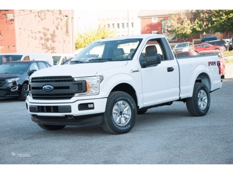 Oxford White Ford F150 XL Regular Cab 4x4.  Click to enlarge.