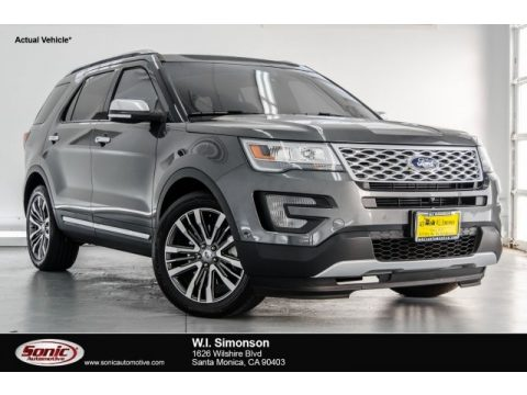 Magnetic Metallic Ford Explorer Platinum 4WD.  Click to enlarge.