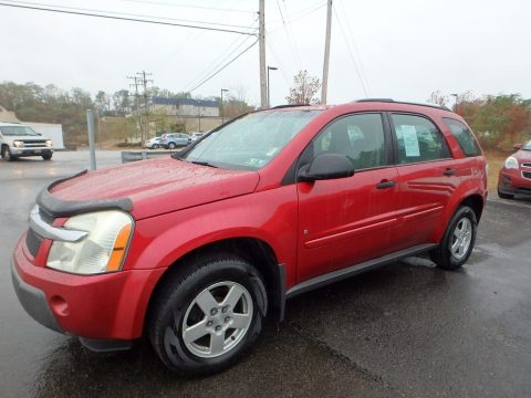 Salsa Red Metallic Chevrolet Equinox LS AWD.  Click to enlarge.