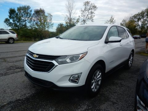 Summit White Chevrolet Equinox LT.  Click to enlarge.