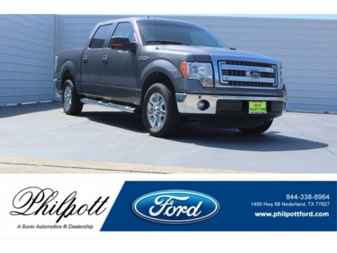 Sterling Gray Metallic Ford F150 XLT SuperCrew.  Click to enlarge.