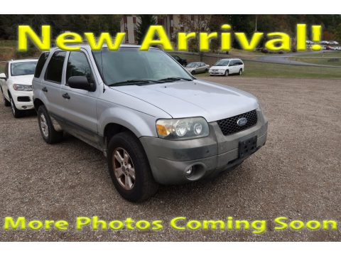 Silver Metallic Ford Escape XLT V6 4WD.  Click to enlarge.