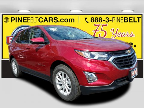 Cajun Red Tintcoat Chevrolet Equinox LT AWD.  Click to enlarge.