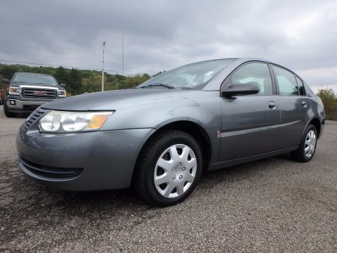 Storm Gray Saturn ION 2 Sedan.  Click to enlarge.