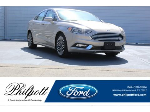 White Gold Ford Fusion SE.  Click to enlarge.