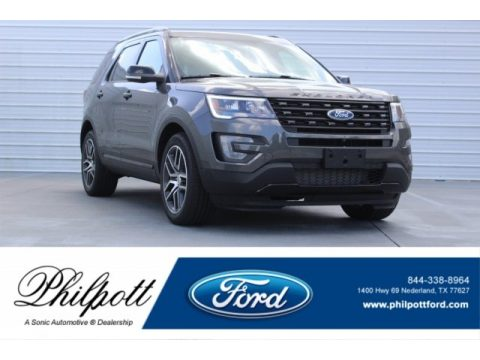 Magnetic Ford Explorer Sport 4WD.  Click to enlarge.