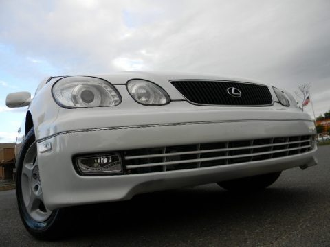 Diamond White Pearl Lexus GS 300.  Click to enlarge.