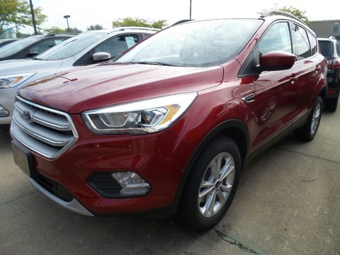 Ruby Red Ford Escape SEL 4WD.  Click to enlarge.