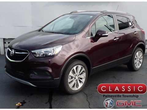 Black Cherry Metallic Buick Encore Preferred AWD.  Click to enlarge.