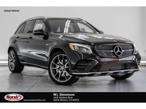 Black Mercedes-Benz GLC AMG 43 4Matic.  Click to enlarge.