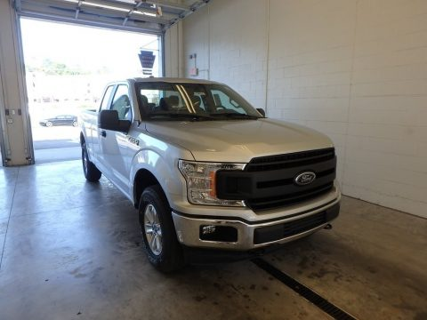 Ingot Silver Ford F150 XL SuperCab 4x4.  Click to enlarge.