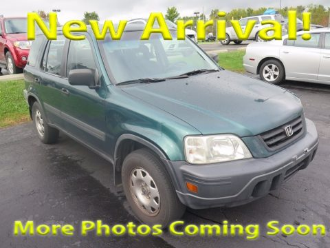 Clover Green Pearl Honda CR-V LX 4WD.  Click to enlarge.