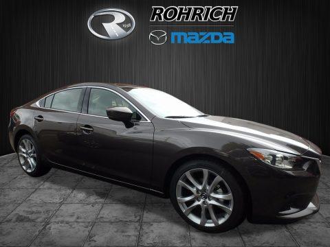 Sonic Silver Metallic Mazda Mazda6 Touring.  Click to enlarge.