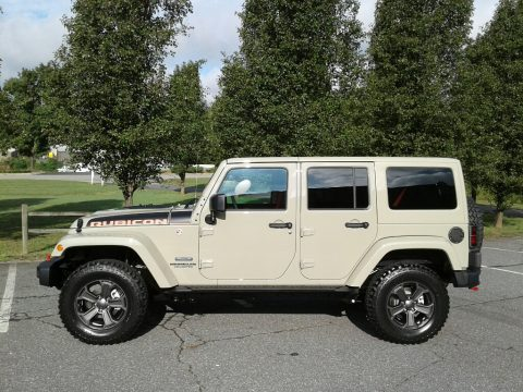 Gobi Jeep Wrangler Unlimited Rubicon 4x4.  Click to enlarge.