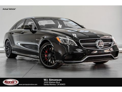 Black Mercedes-Benz CLS AMG 63 S 4Matic Coupe.  Click to enlarge.