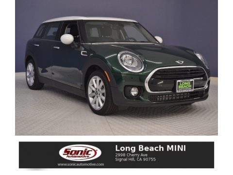 British Racing Green II Metallic Mini Clubman Cooper.  Click to enlarge.