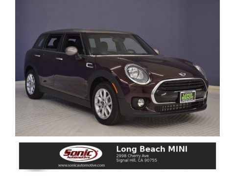 Pure Burgundy Metallic Mini Clubman Cooper.  Click to enlarge.