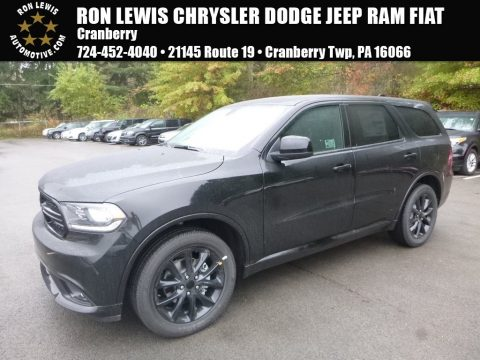 DB Black Crystal Dodge Durango SXT AWD.  Click to enlarge.