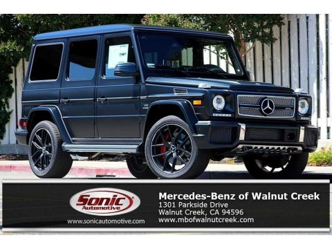 designo Night Black Magno (Matte) Mercedes-Benz G 65 AMG.  Click to enlarge.
