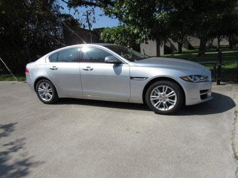Rhodium Silver Jaguar XE 25t Premium.  Click to enlarge.