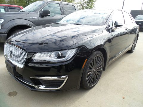 Black Velvet Lincoln MKZ Reserve.  Click to enlarge.