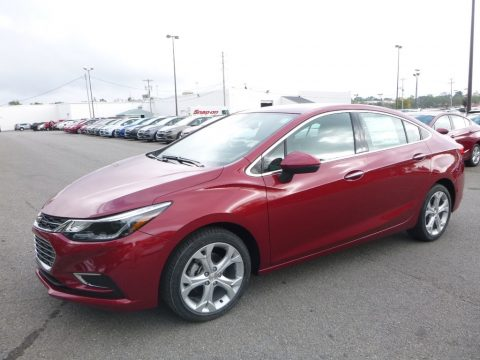 Cajun Red Tintcoat Chevrolet Cruze Premier.  Click to enlarge.