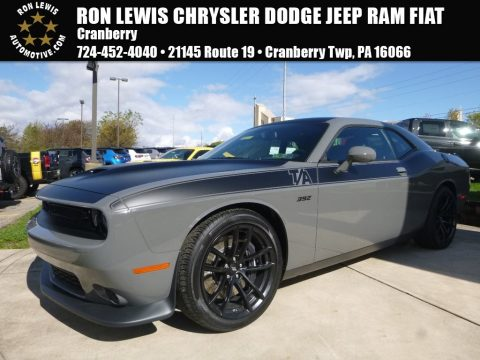 Destroyer Gray Dodge Challenger T/A 392.  Click to enlarge.