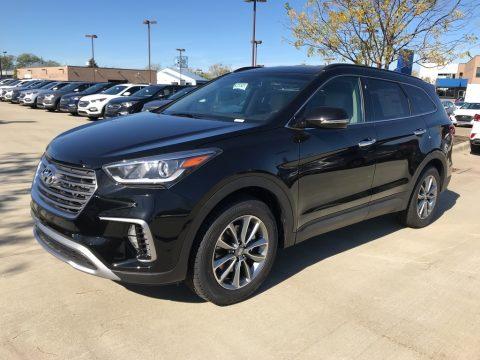 Becketts Black Hyundai Santa Fe SE AWD.  Click to enlarge.