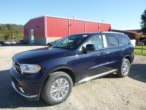 Blu By You Pearl Dodge Durango SXT AWD.  Click to enlarge.